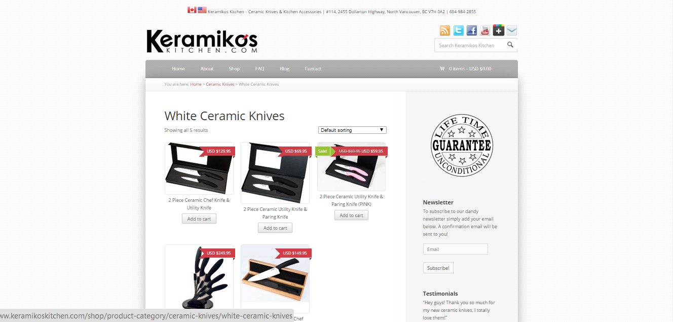 keramikos knives shop