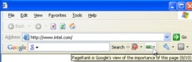 Google Toolbar ALgorithm Update December 11, 2000